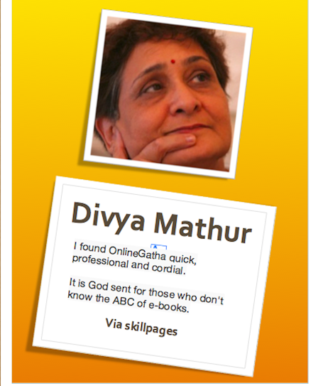 onlinegatha feedback by divya mathur