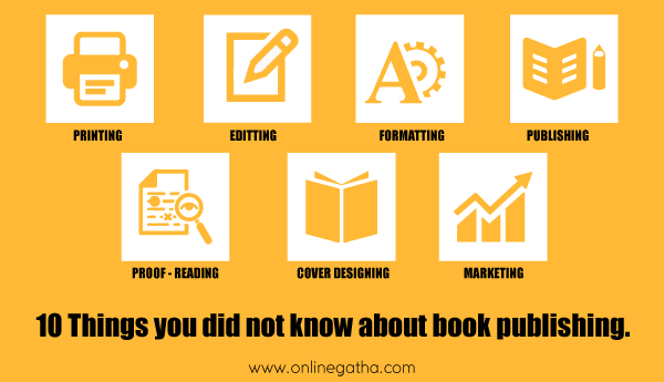 10 Things You Did Not Know About Book Publishing
