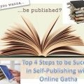 Top 4 Steps for Success in Self Publishing with OnlineGatha