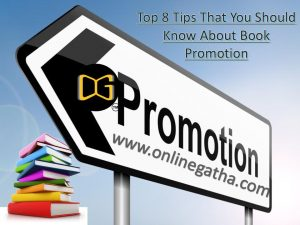 Book Promotion Tips for self publisher
