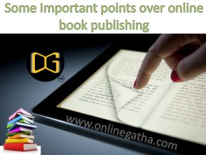 self publisher in India
